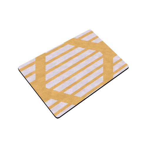 "geometric design Doormat 24""x16"" (Black Base)"