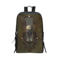Awesome dark skull Unisex Slim Backpack (Model 1664)