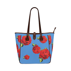 Fairlings Delight's Floral Luxury Collection- Red Rose Handbag 53086ia6 Classic Tote Bag (Model 1644)