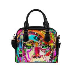 Guy Graffiti Shoulder Handbag (Model 1634)