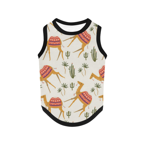 Camels All Over Print Pet Tank Top