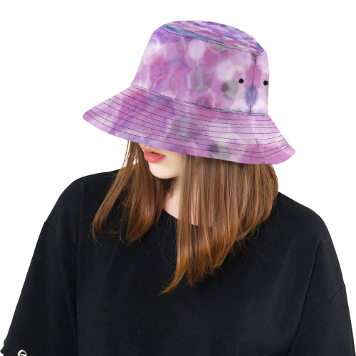AQUARELL BUBBLES LADYLIKE All Over Print Bucket Hat