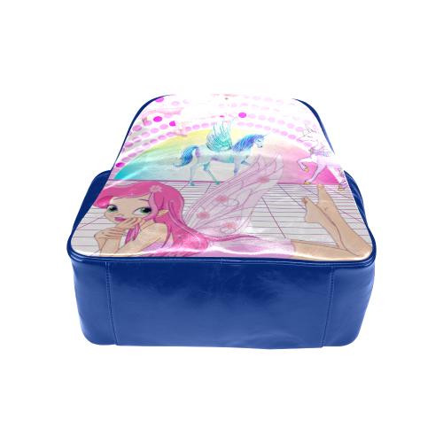 Fairy Unicorn Dance Floor Multi POcket Backpack Multi-Pockets Backpack (Model 1636)