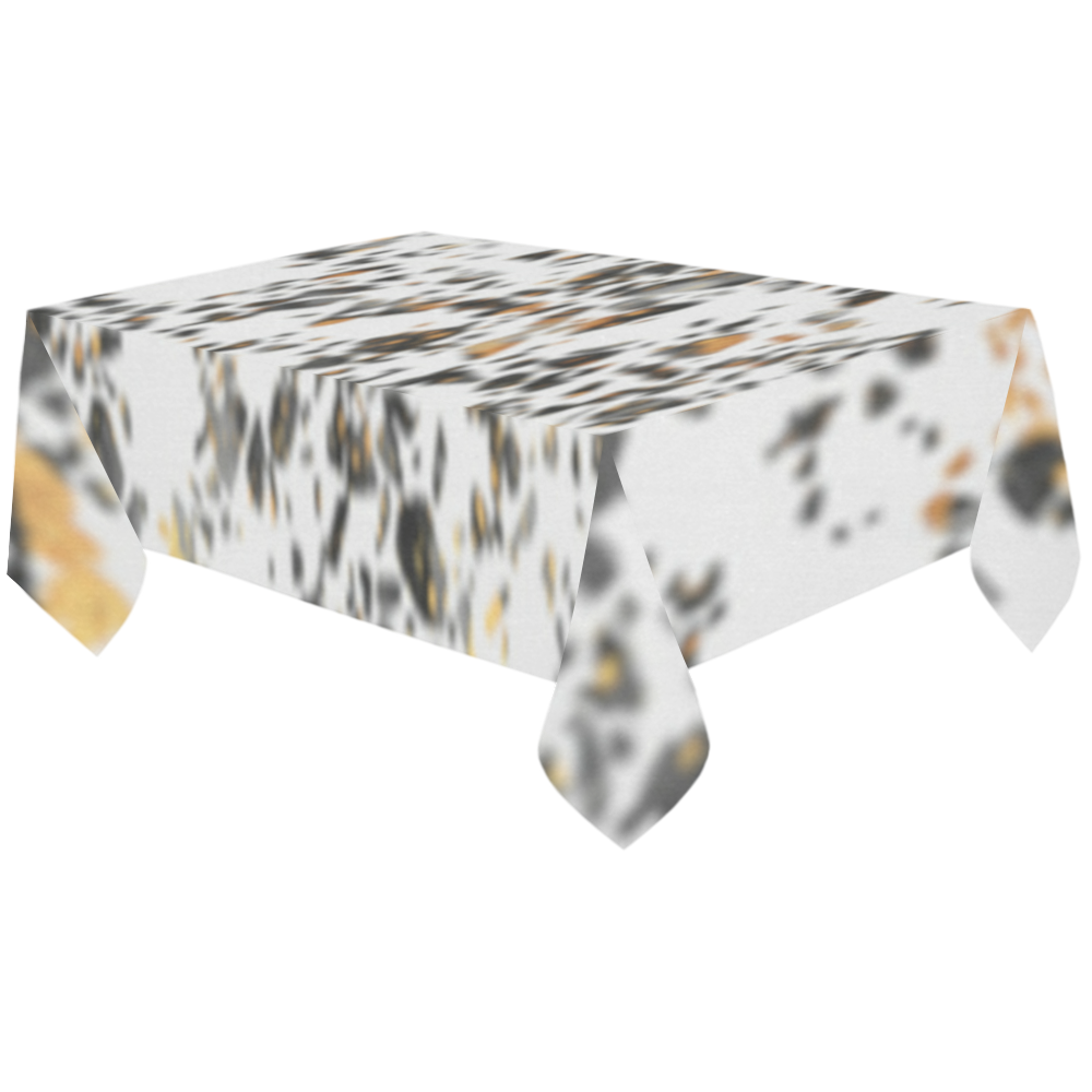 """spots Cotton Linen Tablecloth 60""""x120"""""""