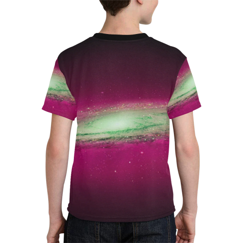 Space Kids' All Over Print T-shirt (Model T65)