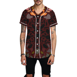 zappwaits k03 All Over Print Baseball Jersey for Men (Model T50)