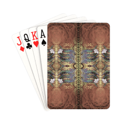 """wings blue-5 Playing Cards 2.5""""x3.5"""""""
