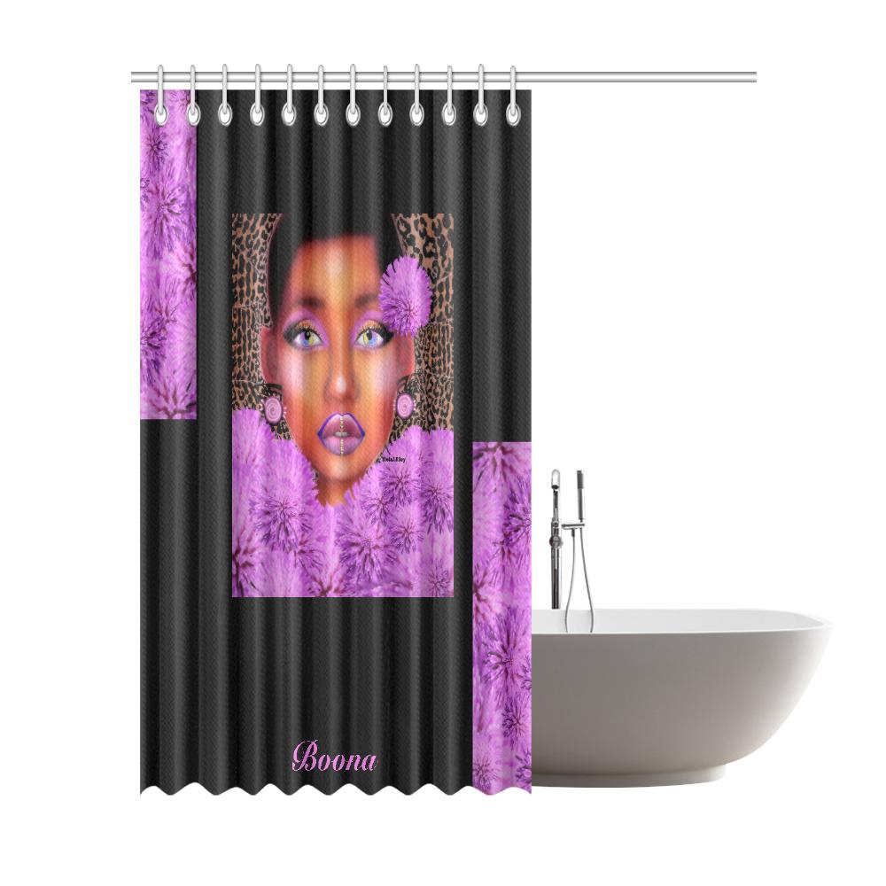 "Blushingish Shower Curtain 72""x84"""