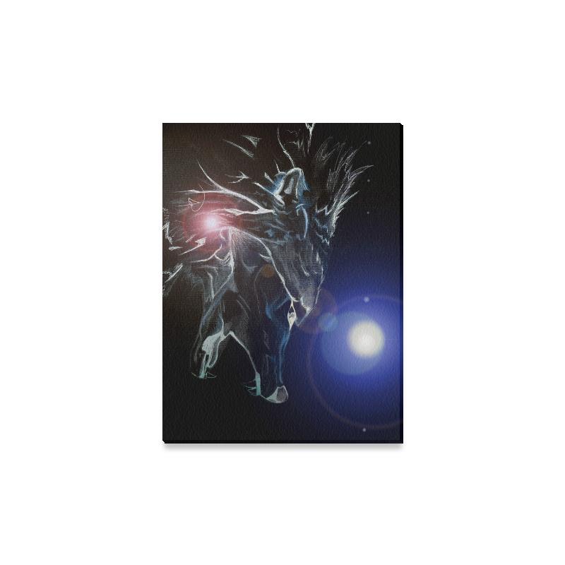 "Cry Wolf Canvas Print 16""x12"""