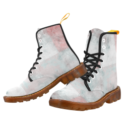 Watercolor Pop Cherry by Jera Nour Martin Boots For Men Model 1203H