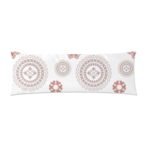 "geometric fantasy Custom Zippered Pillow Case 21""x60""(Two Sides)"
