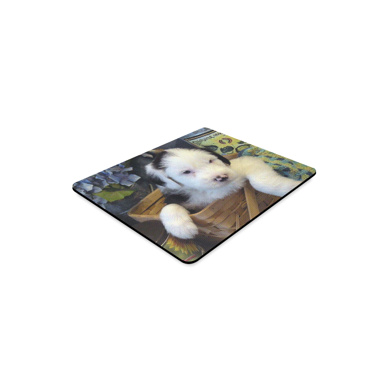 country pup Rectangle Mousepad