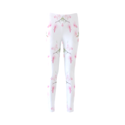 Pattern Orchidées Cassandra Women's Leggings (Model L01)