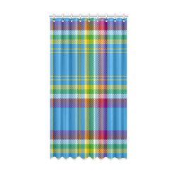 "Yukon Tartan Window Curtain 52"" x96""(One Piece)"