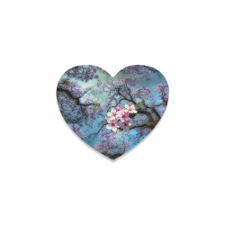 Cherry blossomL Heart Coaster