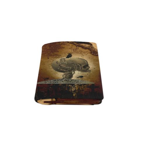 """Mechanical skull Blanket 50""""x60"""""""