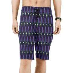 Graphic illusion Men's All Over Print Board Shorts (Model L16)
