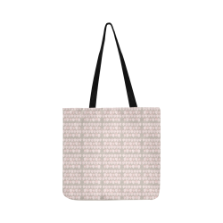 Strawberries Gone Pink Reusable Shopping Bag Model 1660 (Two sides)