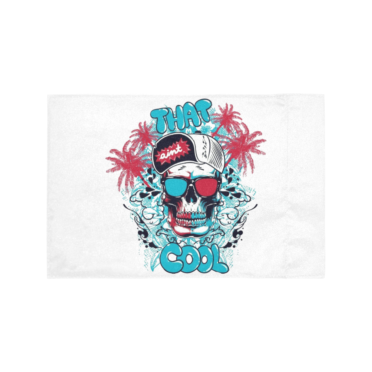 THAT AINT COOL Motorcycle Flag (Twin Sides)