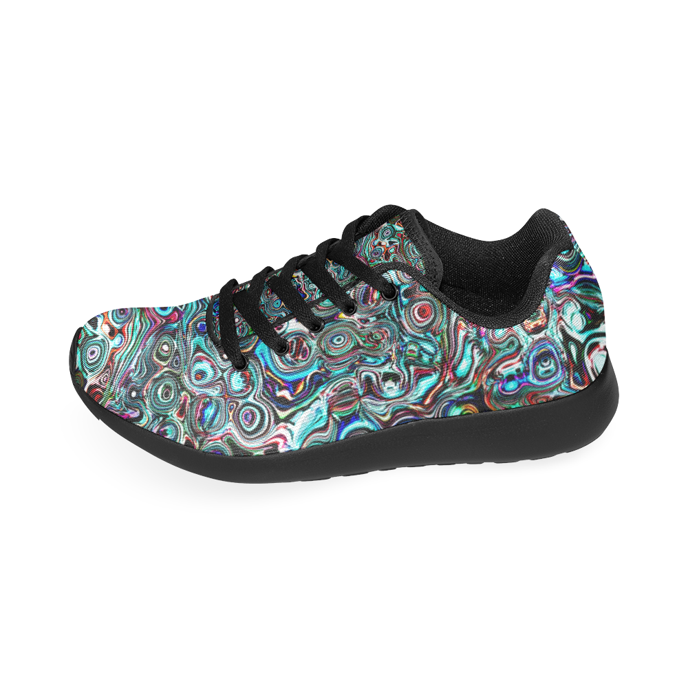 VanGogh Swirl by Jera Nour Women's Running Shoes/Large Size (Model 020)