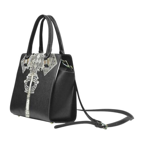 cd53fc3f8c5c7f419d92f58cefa2692a--christian-symbol Rivet Shoulder Handbag (Model 1645)
