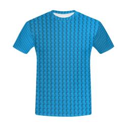 PLASTIC All Over Print T-Shirt for Men (USA Size) (Model T40)