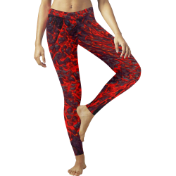 Lava Cosplay Low Rise Leggings (Invisible Stitch) (Model L05)