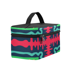 Waves in retro colors Lunch Bag/Large (Model 1658)