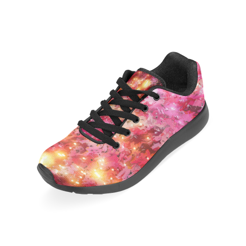 Sparkling Pink by Jera Nour Women's Running Shoes/Large Size (Model 020)