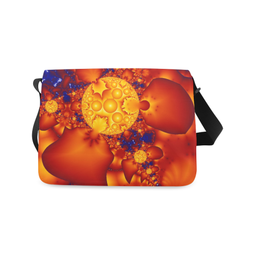 Planetary Fire Messenger Bag (Model 1628)