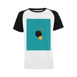 Overlap Men's Raglan T-shirt (USA Size) (Model T11)