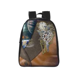 Our dimension of Time School Backpack (Model 1601)(Medium)