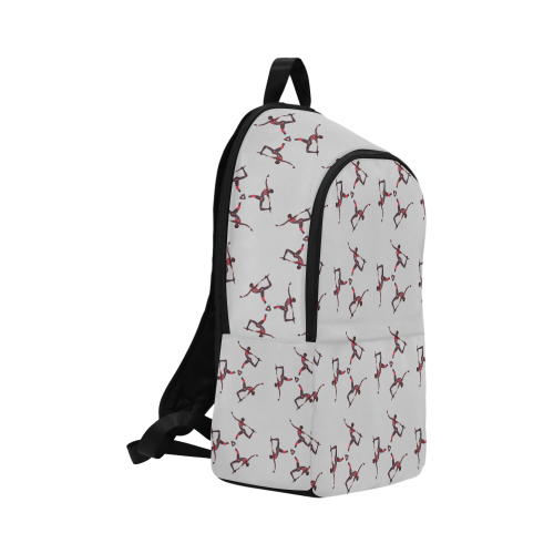 grace2 trans Fabric Backpack for Adult (Model 1659)