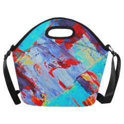 oil_k Neoprene Lunch Bag/Large (Model 1669)