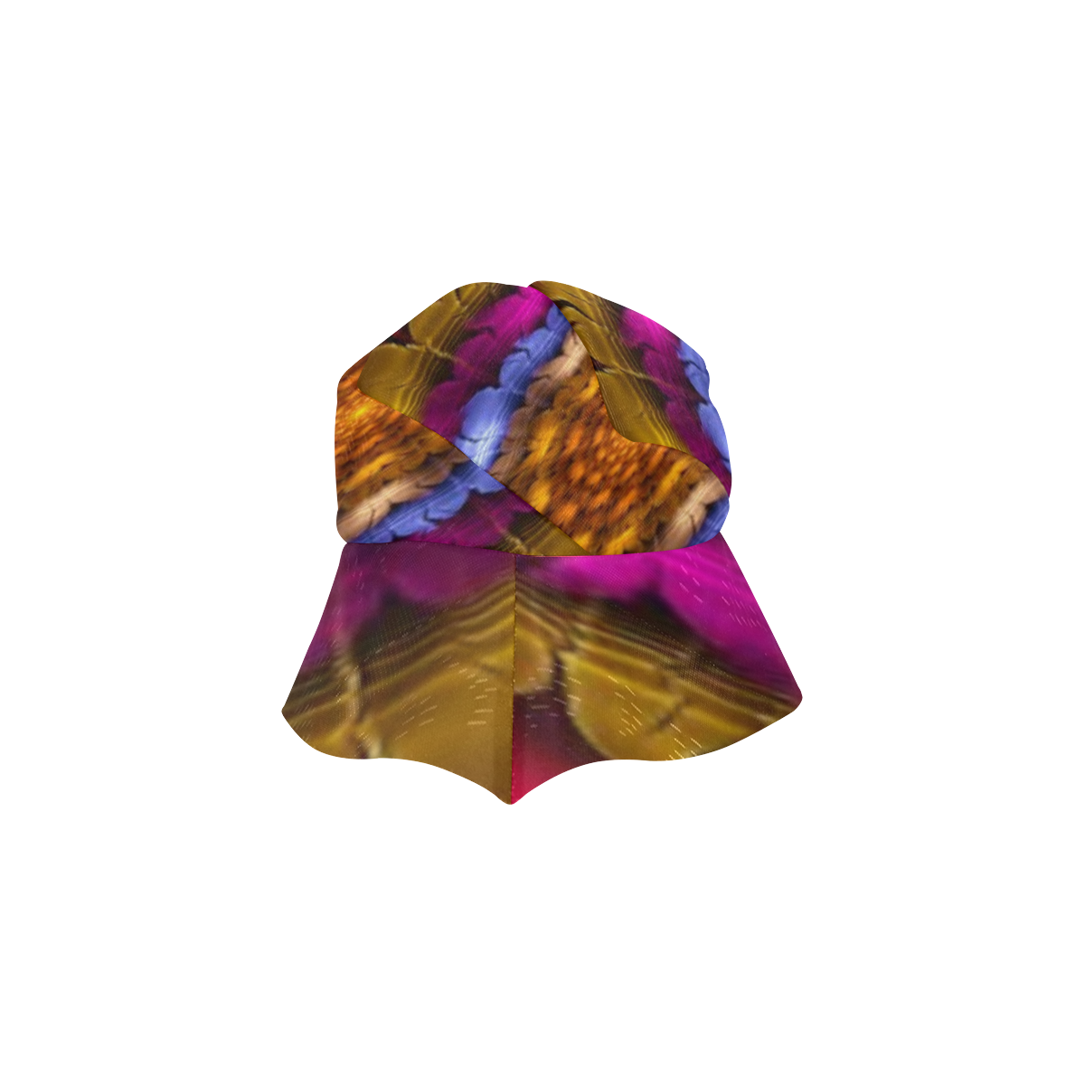 Fractal flash New Style Bucket Hat