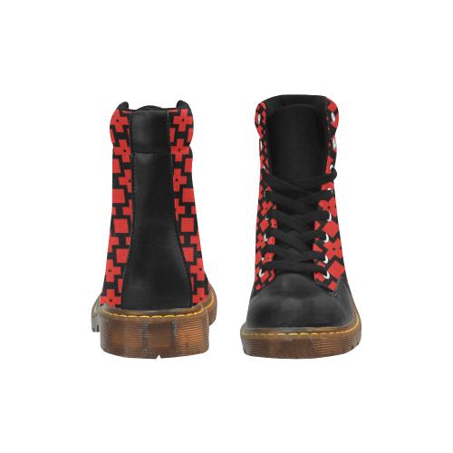 16dr Apache Round Toe Men's Winter Boots (Model 1402)