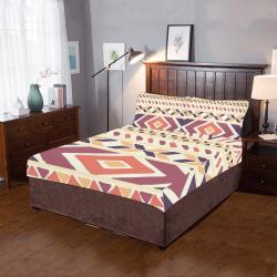 Trendy Tribal Pattern 3-Piece Bedding Set