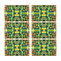 Modern Geometric Pattern Placemat 12'' x 18'' (Six Pieces)