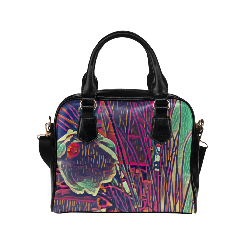 Cosmos perfection digital art Shoulder Handbag (Model 1634)
