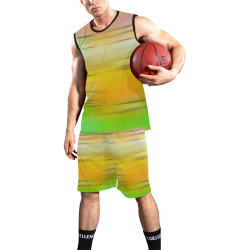 noisy gradient 2 by JamColors All Over Print Basketball Uniform