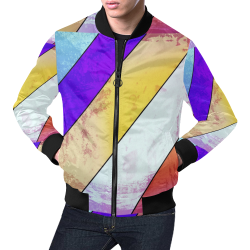 I can't breathe by Nico Bielow All Over Print Bomber Jacket for Men (Model H19)