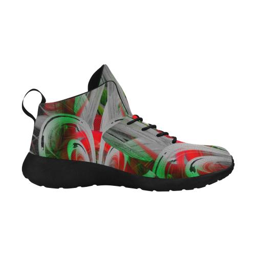 Green Red Grump Step Crew Men's Chukka Training Shoes (Model 57502)