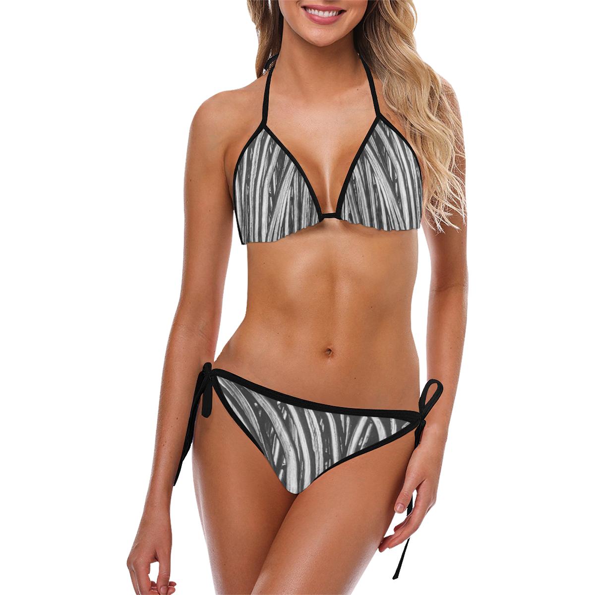 rope trans Custom Bikini Swimsuit (Model S01)