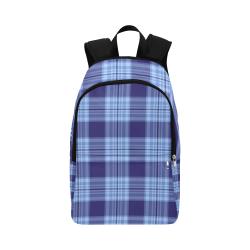 STRIPES LIGHT BLUE Fabric Backpack for Adult (Model 1659)