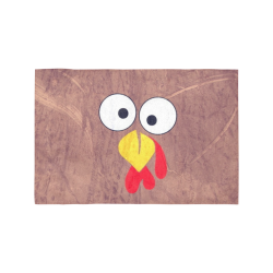 Turkey by Nico Bielow Motorcycle Flag (Twin Sides)