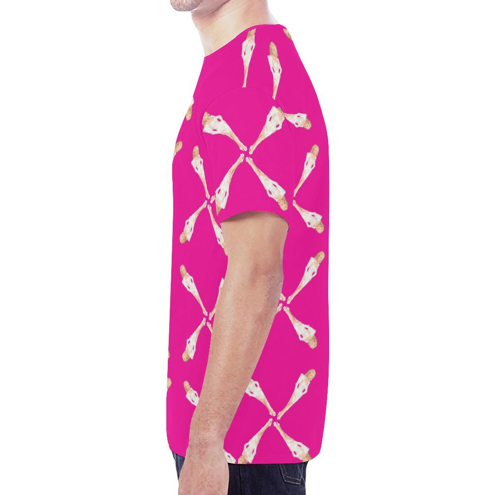 dolly pattern New All Over Print T-shirt for Men (Model T45)