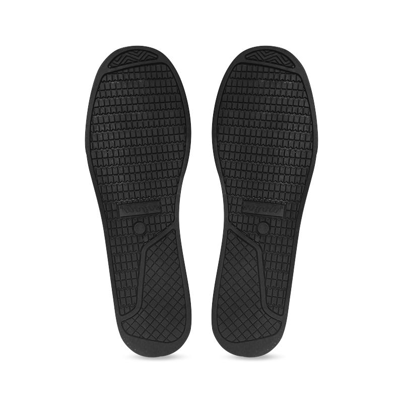 Yellow & Black Paint Splatter - Black Women's Canvas Zipper Shoes (Model 001)