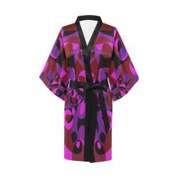Abstract #18 Kimono Robe