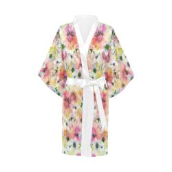 pretty spring floral Kimono Robe