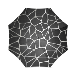 cracked metal Foldable Umbrella (Model U01)
